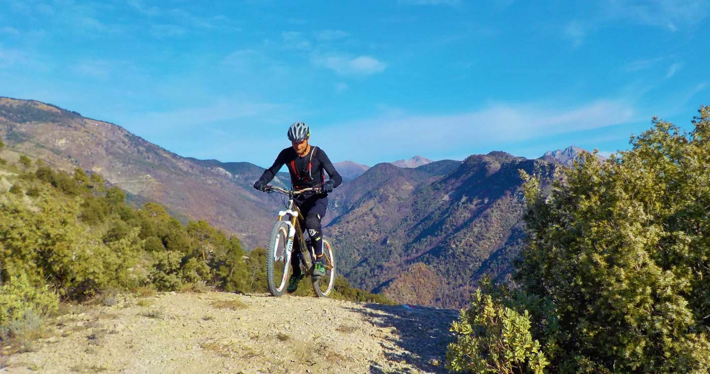 Mountain bike alta via tende