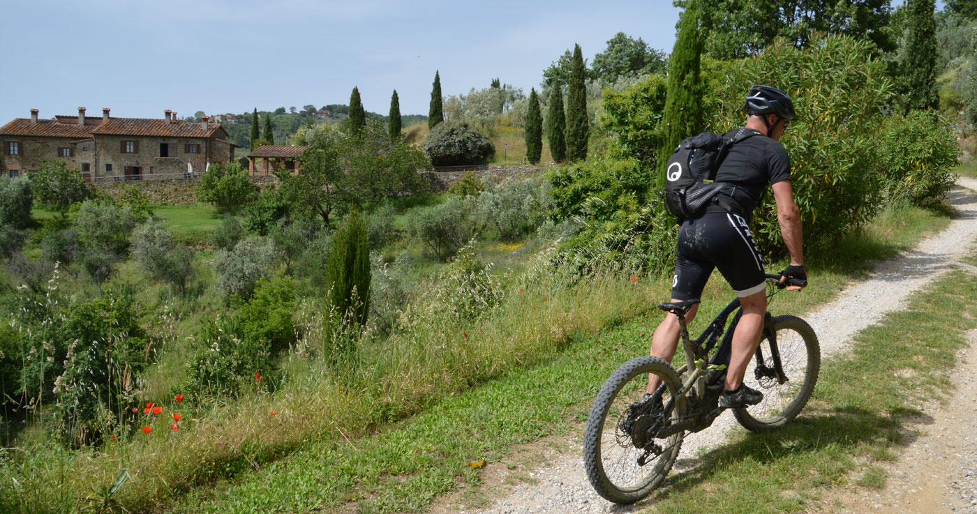 Mountain bike toscane