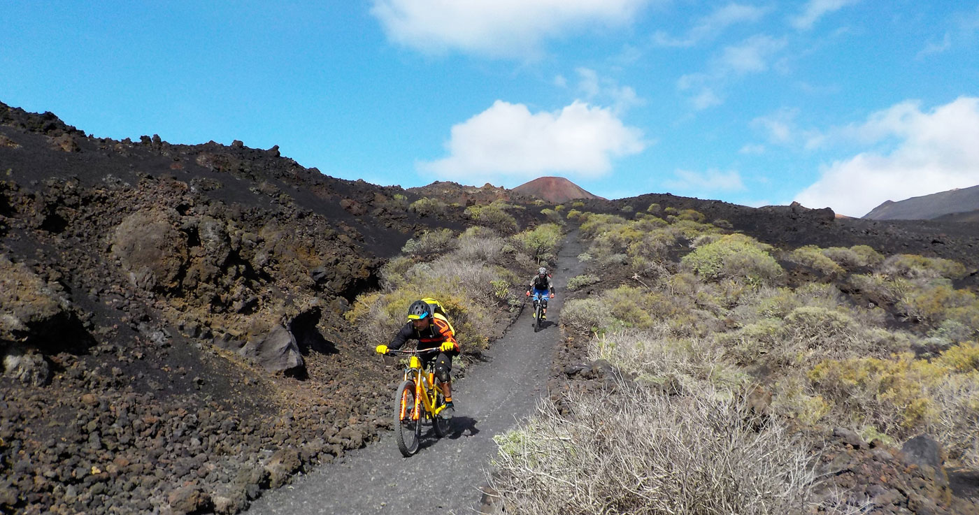 VTT Enduro d'exception La Palma Canaries